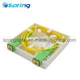Sp 1601 2A 2 운반 FTTH 소형 상자 광섬유 벽 마운트 끝 상자