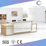 Heißer verkaufenmelamin-fertiger Büro-Empfang-Tischplattentisch