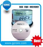 Grado in bianco a di capienza di marca 4.7GB di DVDR Princo