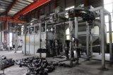 Catenária contínua Granalhagem Limpeza da Máquina