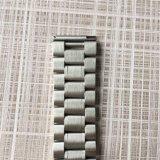 cinturini solidi neri d'argento dell'acciaio inossidabile di 22mm PVD