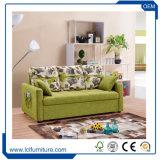 Base di sofà di trapunto domestica di sonno della tappezzeria del tessuto dell'un pezzo solo MOQ del sofà delle sedi della mobilia tre