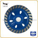 Roue de la Coupe du diamant diamant bleu tasse pour le béton de roue, plancher, la pierre naturelle