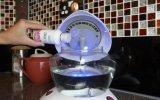 Elektrischer eingestellter Licht-wässernluft-Reinigungsapparat der Geschwindigkeits-LED