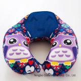 Los niños de dibujos animados de atención en el cuello tipo U proveedor chino de almohada