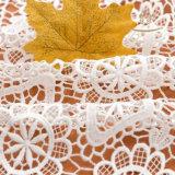 Tessuto popolare del merletto della guipure con il tessuto africano del merletto del cavo