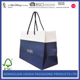 Sacos de empacotamento do presente da sapata dos sacos vestuário de papel quente do saco de compra do vendedor do vário