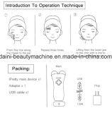 Elektrische BioMicrocurrent Haut ziehen das Gesicht fest, das Gesichts-Anhebenschönheits-Einheiten tont