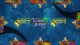 Het Ontspruiten van de Vissen van de Safari van de Koning van de leeuw de Muntstuk In werking gestelde Machine van het Spel van de Visserij van de Arcade Elektrische