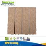 Decking/проектированный настил плитки Decking доски WPC (WPC) DIY деревянные пластичные составные