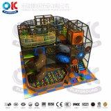 Игровая площадка для установки внутри помещений оборудование замок с мягкими игровая площадка и сдвиньте