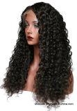 Доступный по цене бразильский волос 360 кружева парики для афро-американских