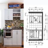 De eigentijdse Essentiële/Hoge Glanzende Kleine Keuken van de Keuken/MiniKitchenette