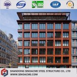 Diseño moderno y edificio residencial galvanizado precio fino de la estructura de acero