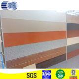 El panel de emparedado material de la PU de la decoración azul del color