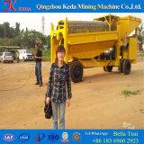 中国の採鉱機械金のトロンメルスクリーン(KDTJ-100)