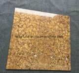 Goldfarbe Bulatti doppelte Laden-Baumaterial-Polierporzellan-Fußboden-Fliesen