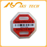 Fragile Security warning Shockwatch label Impact indicator