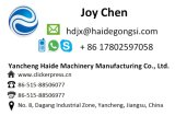 Hydraulische waschende Schwamm-stempelschneidene Maschine