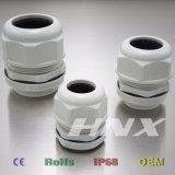 Glândula de cabo PA66 material de nylon à prova de chama M18*1.5 de Hnx RoHS