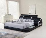 Base di cuoio moderna del grande assestamento di formato per la camera da letto