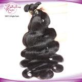 Grande qualidade de estoque virgem 100 Remy brasileira de cabelo humano