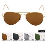 Sem quantidade mínima de Espelho Vintage unissexo óculos de sol com estrutura de alumínio (CLX0001)