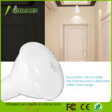 Nuevos Productos regulable E27 9W 12W 6000K 3000K 5000K frio/calor/Blanco luminoso Sensor de movimiento PIR bombilla LED, lámpara LED PIR, Sensor de movimiento bombilla LED