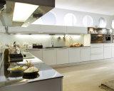 安く光沢度の高い現代デザインアクリルのドアのラッカー食器棚を熱販売すること