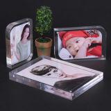 Acrílico 10mm de tamaño personalizado imán el marco de fotos