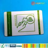 Carte principale d'hôtel classique de l'IDENTIFICATION RF 1K d'à haute fréquence MIFARE de PVC de la coutume ISO14443A