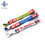 Factory Design logo multicolore Bracelet en polyester d'impression