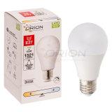 Ahorro de energía de la luz tres partes 12W E27 bombilla LED SKD