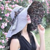Sombreros asoleados del compartimiento de la muchacha de Fahison del verano