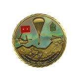 Las monedas de plata medalla personalizado