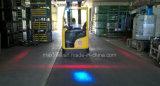 Со стороны обработки& заднего красного фонаря пешеходов зоны для достижения погрузчика