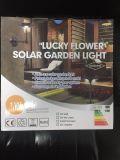 luz solar solar nea del jardín del sensor del panel 100lumen Epistar PIR de la célula 5V1w con diseño especial