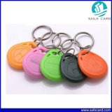 modifica di 13.56MHz ISO14443A S50 RFID Keyfob con il materiale dell'ABS