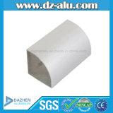 Porta do indicador de Ghana perfil de alumínio/pó personalizados Brown branco de revestimento