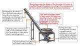 Runde Rohr-Schrauben-Hebevorrichtung-Schwingung-führende Maschine für Puder-Verpackung (JAT-U180)