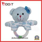 Ce/Cpsia het Blauwe Speelgoed van de Pluche van de Baby Pasgeboren Super Zachte Gevulde