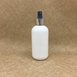 250ml borran la botella redonda de Boston con la bomba de aluminio de plata