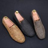 Alta qualidade macia e Mens barato que conduz sapatas ocasionais do barco dos Loafers para homens