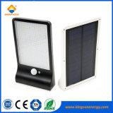 Lampe de mur imperméable à l'eau actionnée solaire extérieure de lumière de détecteur de mouvement de 450lm 36 DEL pour le jardin de chemin