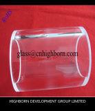 Tube transparent compétitif de quartz protégé par fusible de grande pureté