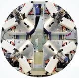La puerta de la ventana de aluminio CNC las cuatro esquinas de la máquina engastado