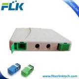 FTTH FTTXの光ファイバアクセス端子箱のパッチ・パネルSc自動シャッターアダプター