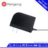 adaptador de la fuente de corriente continua De la entrada de información 24V 1A de la CA 100-240V para la luz del LED