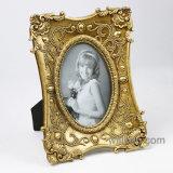 Het hete Frame/de Omlijsting van de Foto Polyresin van de Verkoop Antieke Gouden