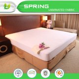 Protector impermeable de bambú del colchón de Terry